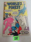 Worlds Finest #120 (1961) Early Silver Age Batman/ Superman