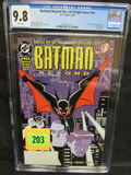 Batman Beyond Special Origin Issue #nn (1999) Key 1st Terry Mcginnis Cgc 9.8