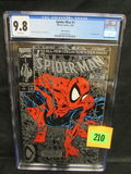Spider-man #1 (1990) Silver Edt. Classic Todd Mcfarlane/ Key Issue Cgc 9.8