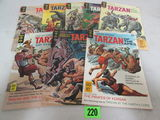 Lot (8) Silver Age Gold Key Tarzan