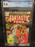 Fantastic Four #155 (1975) Bronze Age Silver Surfer High Grade Cgc 9.6