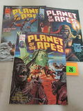 Planet Of The Apes #7, 11, 13 (1970's) Bronze Age Marvel Curtis