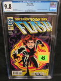 Flash #92 (1994) Key 1st Appearance Impulse Cgc 9.8