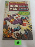 Tales Of Suspense #76 (1966) Silver Age Gladiator/ Captain America