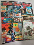 Lot (7) Bronze Age Dc Ghosts Comics