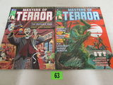 Masters Of Terror #1 & 2 (1975) Marvel/ Curtis