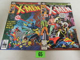 Uncanny X-men #128 & 132 Marvel Bronze Age Issues