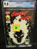 Ghost Rider V2 #15 (1991) Classic Glow In The Dark Cover Cgc 9.8