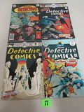 Detective Comics Bronze Age Lot #447, 450, 455, 465