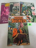 House Of Secrets Late Silver Age Lot #87, 91, 93, 95 Dc Horror