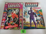 Justice League Of America #34 & 47 Silver Age Dc