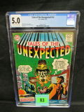 Tales Of The Unexpected #10 (1957) Golden Age Dc Cgc 5.0