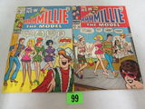 Millie The Model #162 & 173 Silver Age Marvel