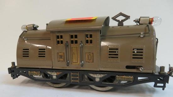 Lionel Pre-War Standard Gauge 0-4-0 Locomotive #10