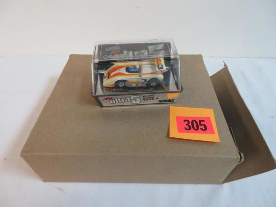 Vintage 1970's Aurora AFX HO Scale Slot Car Full Case (6) #3007 Shadow