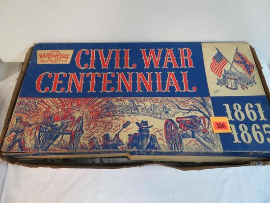Rare Vintage Marx #5929 Civil War Centennial Playset