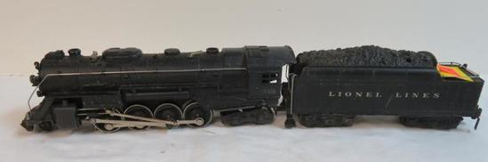 Lionel Post-War 2-8-4 Berkshire Locomotive #726 & 2426W Tender
