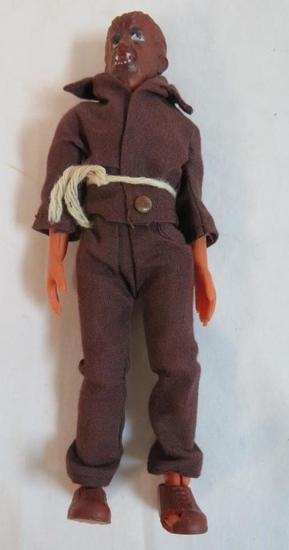 """Vintage 1970's AHI Universal Monsters Wolfman 8"""" Figure (Mego Style)"""