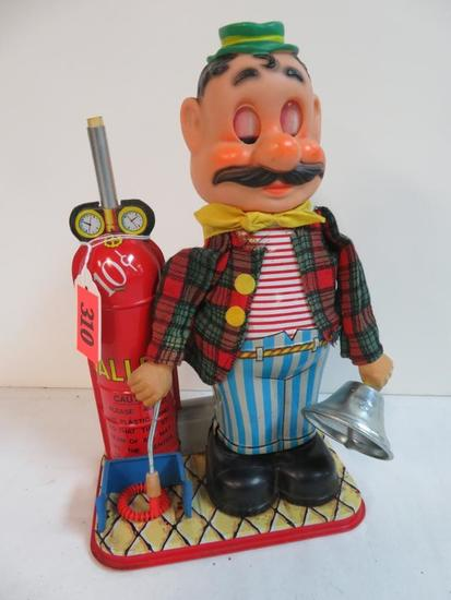 Vintage Rosko Tomiyama (Japan) Battery Op Balloon Seller