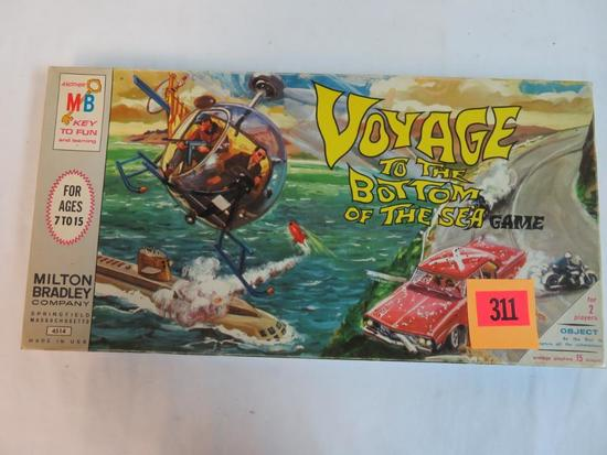 Vintage 1964 Voyage to the Bottom of The Sea Board Game