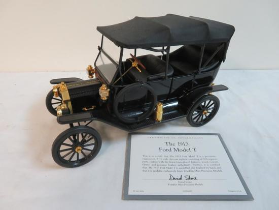 Franklin Mint 1:18 Diecast 1913 Ford Model T