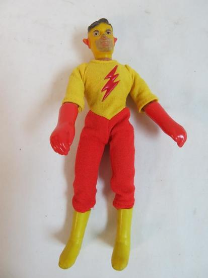 "Rare Vintage 1970's Mego 8"" WGSH Teen Titans Kid Flash Figure"