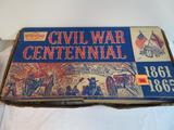 Rare Vintage Marx #5929 Civil War Centennial Playset