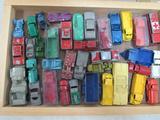 Lot (36) Vintage Midge & Tootsie Toy Die Cast Cars & Trucks