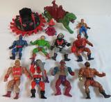 Large Lot of Vintage He-Man MOTU Action Figures & More