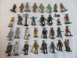Large Grouping of Antique Lead Figures/ Characters