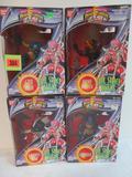 Lot (4) 1994 Mighty Morphin Power Rangers Evil Space Aliens MIB