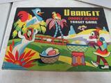 Rare 1940's U Bang It (Arthur Dritz) Black Americana Target Game