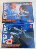 Lot (2) AMT Star Trek Sealed Model Kits