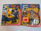 (2) Vintage 1970's Mego Action Jackson Outfits/ Accessory Packs