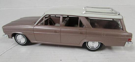 1965 AMC Rambler Cross County Wagon Friction Dealer Promo Car