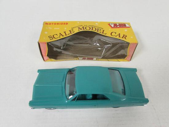 Johan 1968 AMC Ambassador Hard Top Friction Dealer Promo Car MIB (Teal)