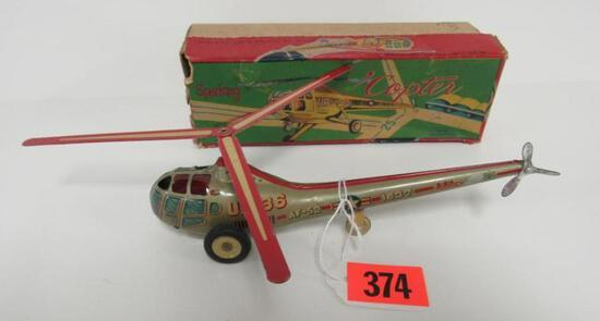 Excellent Alps Japan Tin Friction UP-36 Sparking Copter MIB