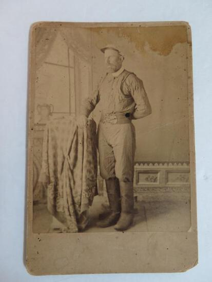 c.1880's Antique Fireman Cabinet Photo