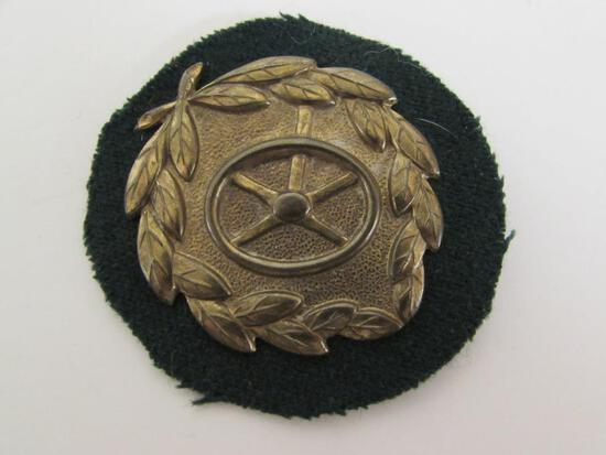 WWII Nazi Army / Wehrmacht Driver's Badge in Bronze