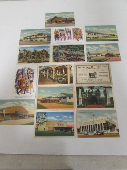 Group of (15) WWII Era Postcards