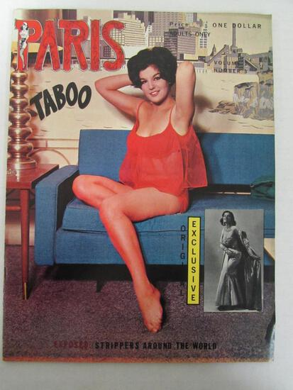 Paris Taboo #3/1962 Men's Magazine