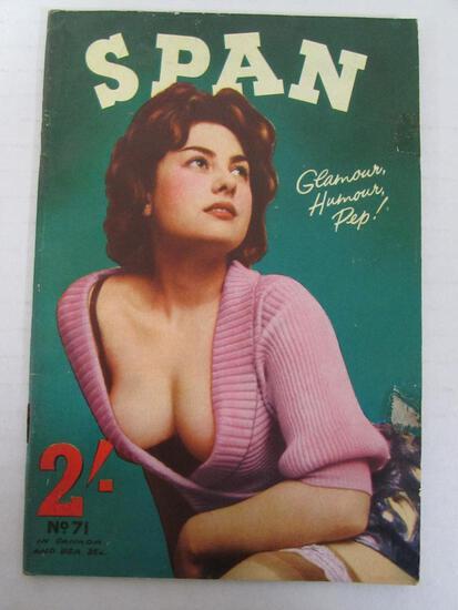 Span #71/c.1960 Vintage Men's Magazine