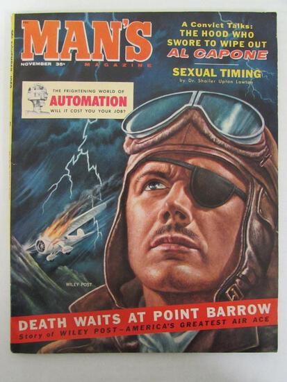 Man's Magazine Nov. 1968