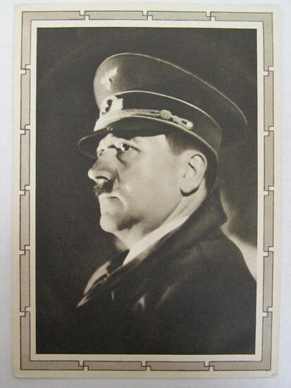 Adolph Hitler c.1940 Nazi Postcard