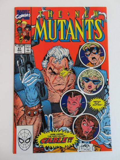 New Mutants #87/Key First App. Cable