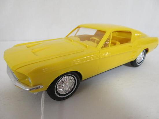 1967 Ford Mustang Friction Dealer Promo Car (Yellow)