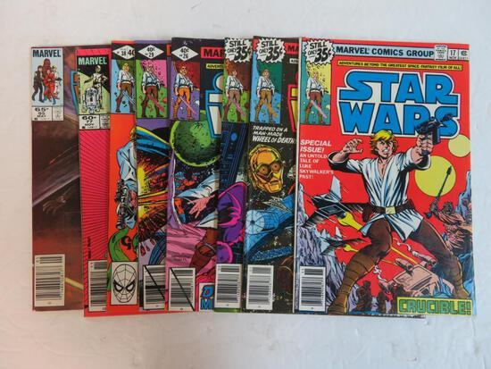 Star Wars Marvel Bronze Age Lot (8)
