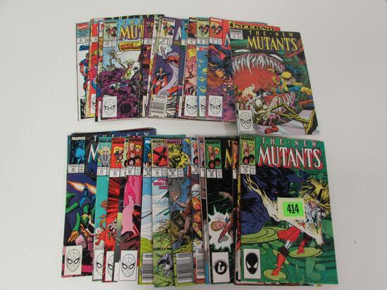 New Mutants Copper Run 52-99 Lot of (33)