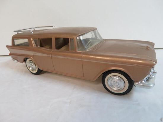Vintage 1959 AMC Rambler Wagon Friction Promo Car