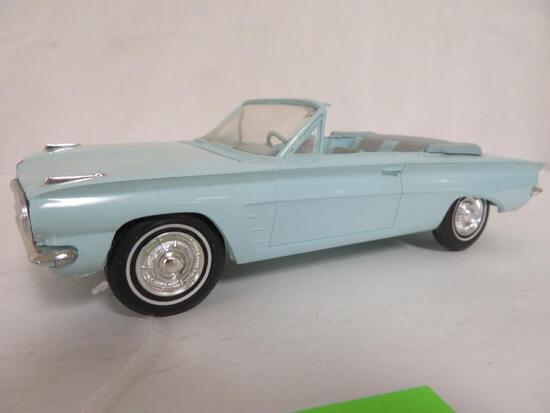 1962 Pontiac Tempest Conv. Friction Dealer Promo Car (Blue)